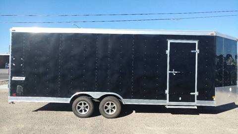 2015 Haulmark 8.5' x 25' Enclosed Trailer