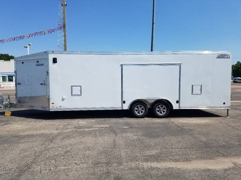 2018 haulmark hasa85x24 in scottsbluff ne steve 39 s auto sales inc. Black Bedroom Furniture Sets. Home Design Ideas