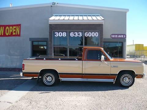 1981 Dodge D150 Pickup