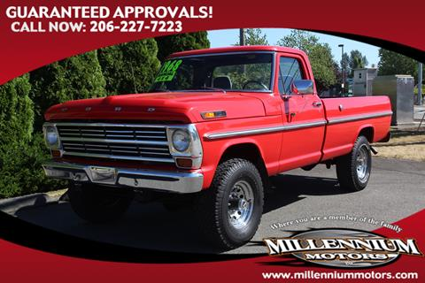 1968 Ford F-250 for sale in Monroe, WA
