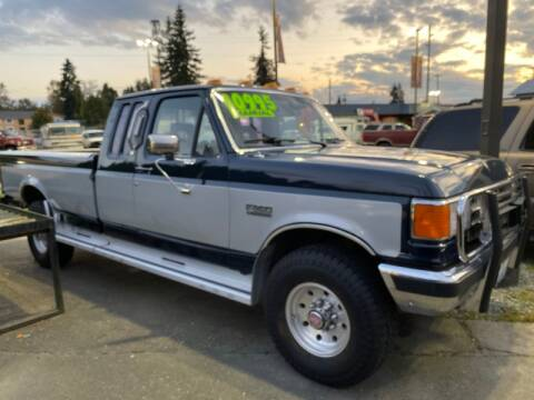 1988 Ford F-250 for sale at MILLENNIUM MOTORS INC in Monroe WA