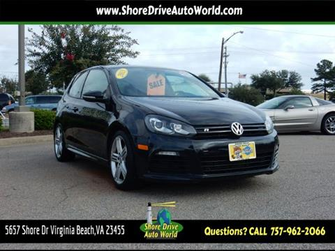 2013 Volkswagen Golf R for sale at Shore Drive Auto World in Virginia Beach VA