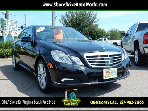 2010 Mercedes-Benz E-Class for sale at Shore Drive Auto World in Virginia Beach VA