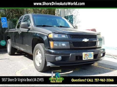 2004 Chevrolet Colorado for sale at Shore Drive Auto World in Virginia Beach VA