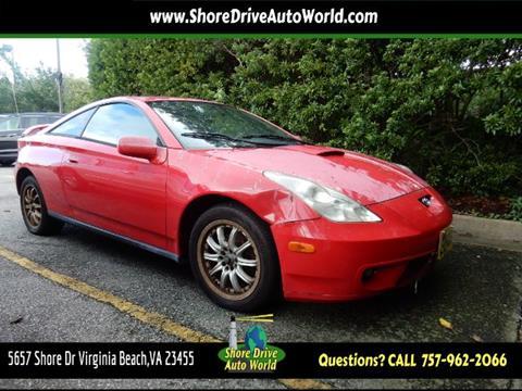2000 Toyota Celica for sale at Shore Drive Auto World in Virginia Beach VA
