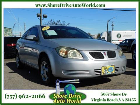 2008 Pontiac G5 for sale at Shore Drive Auto World in Virginia Beach VA