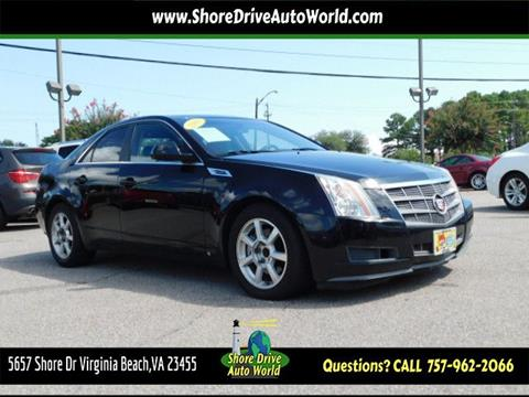 2009 Cadillac CTS for sale at Shore Drive Auto World in Virginia Beach VA