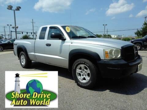 2006 Dodge Dakota for sale at Shore Drive Auto World in Virginia Beach VA