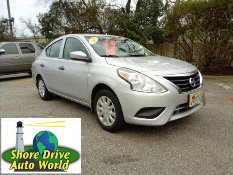 2019 Nissan Versa for sale at Shore Drive Auto World in Virginia Beach VA
