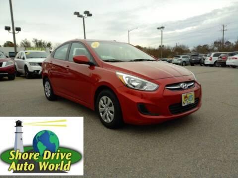 2017 Hyundai Accent for sale at Shore Drive Auto World in Virginia Beach VA