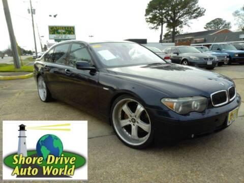 2003 BMW 7 Series for sale at Shore Drive Auto World in Virginia Beach VA