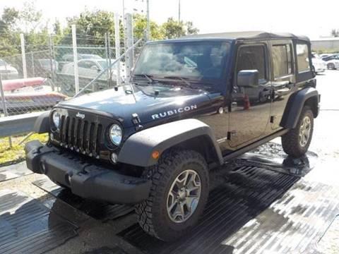 2014 Jeep Wrangler Unlimited for sale in Ocoee, FL