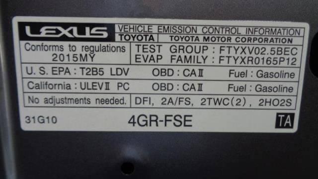2015 Lexus IS 250 4dr Sedan - Ocoee FL