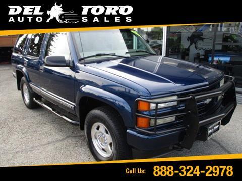 2000 Chevrolet Tahoe Limited/Z71 for sale in Auburn, WA