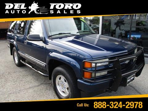 2000 Chevrolet Tahoe Limited/Z71 for sale in Auburn, WA