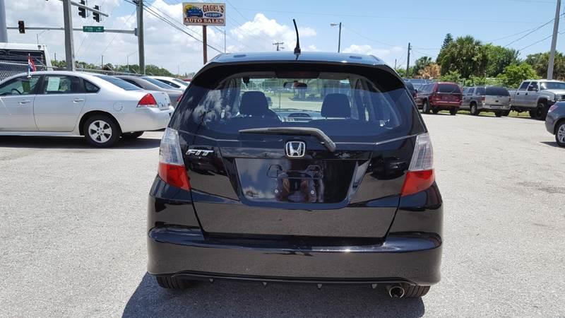 2009 Honda Fit Sport 4dr Hatchback 5A - Gibsonton FL