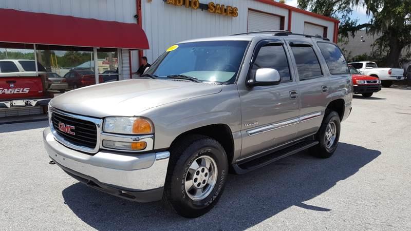 2001 GMC Yukon SLT 2WD 4dr SUV - Gibsonton FL