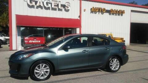 2012 Mazda MAZDA3 i Touring for sale at Gagel's Auto Sales in Gibsonton FL