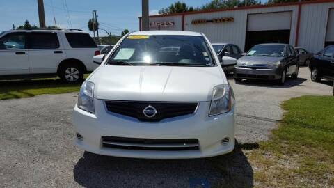 2012 Nissan Sentra 2.0 S for sale at Gagel's Auto Sales in Gibsonton FL