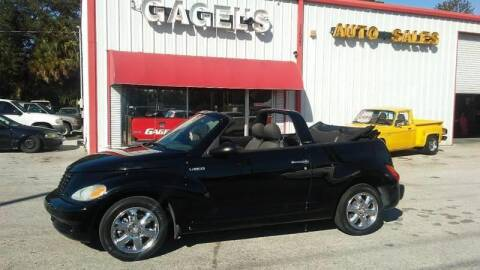2005 Chrysler PT Cruiser Touring for sale at Gagel's Auto Sales in Gibsonton FL