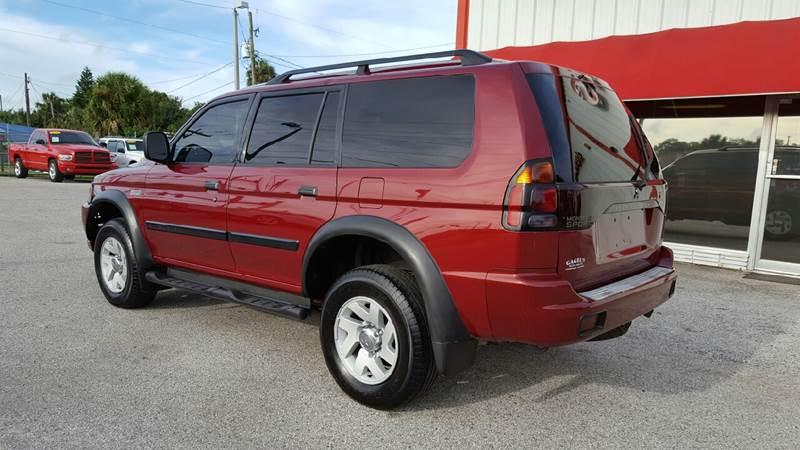 2003 Mitsubishi Montero Sport LS 4WD 4dr SUV - Gibsonton FL