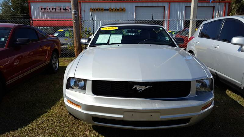 2008 Ford Mustang V6 Premium 2dr Convertible - Gibsonton FL