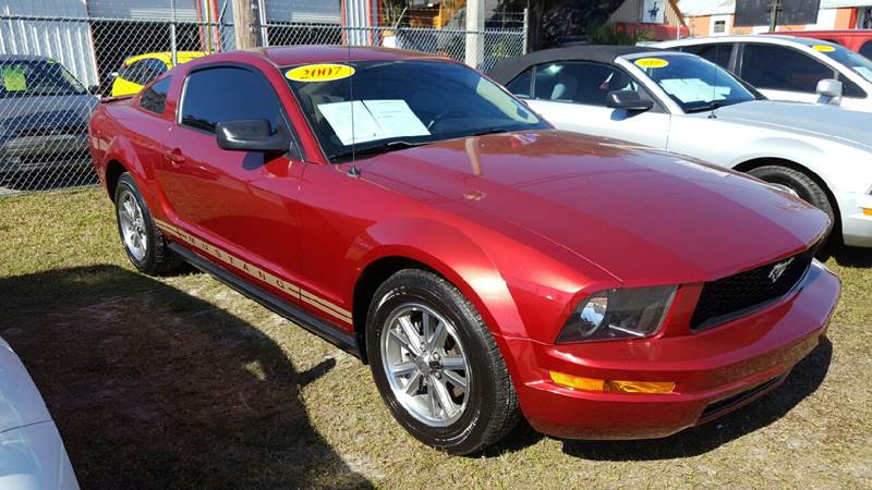 2007 ford mustang v6 premium 2dr coupe in gibsonton fl gagels sold publicscrutiny Image collections