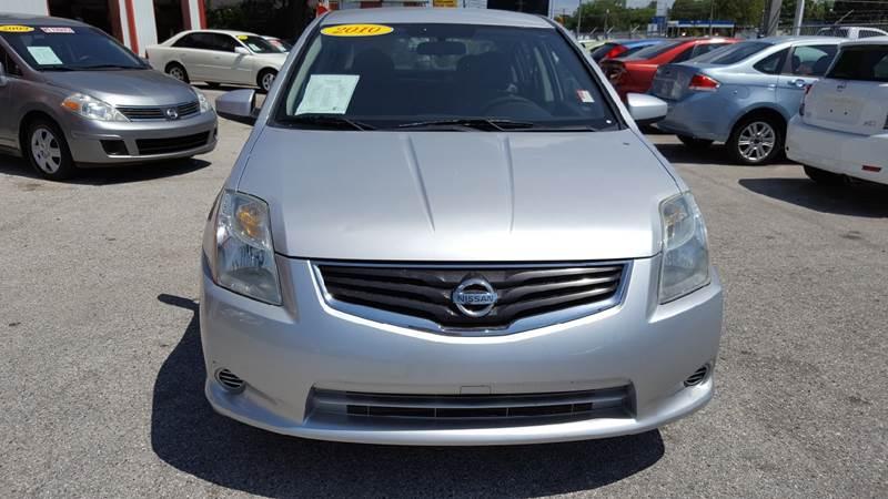 2010 Nissan Sentra 2.0 4dr Sedan CVT - Gibsonton FL