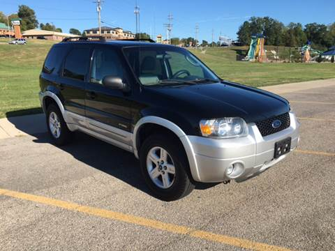 2007 Ford Escape Hybrid for sale at Woody's Auto Sales in Jackson MO