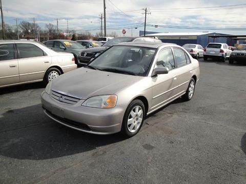 2002 Honda Civic for sale in Cincinnati, OH
