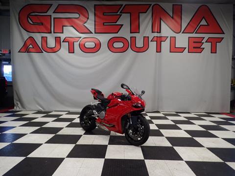 2014 Ducati 899 Panicle