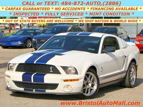 2007 Ford Shelby GT500 for sale at Bristol Auto Mall in Levittown PA
