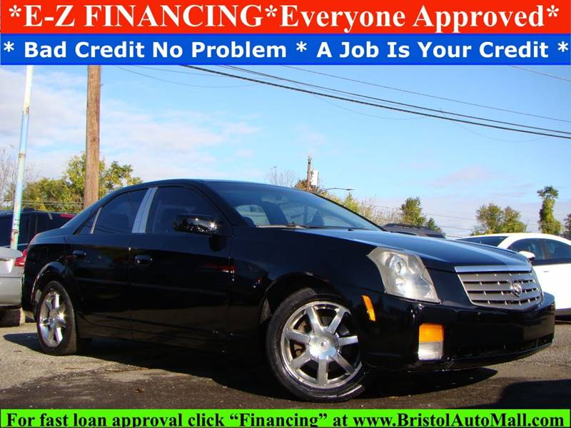 2005 Cadillac Cts 36 4dr Sedan In Levittown Pa Bristol Auto Mall