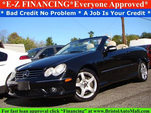 2005 Mercedes-Benz CLK for sale in Levittown, PA