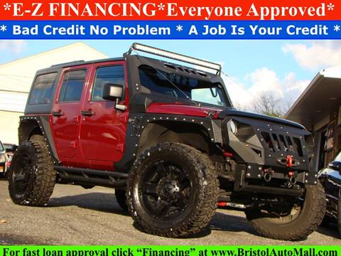 2012 Jeep Wrangler Unlimited for sale at Bristol Auto Mall in Levittown PA