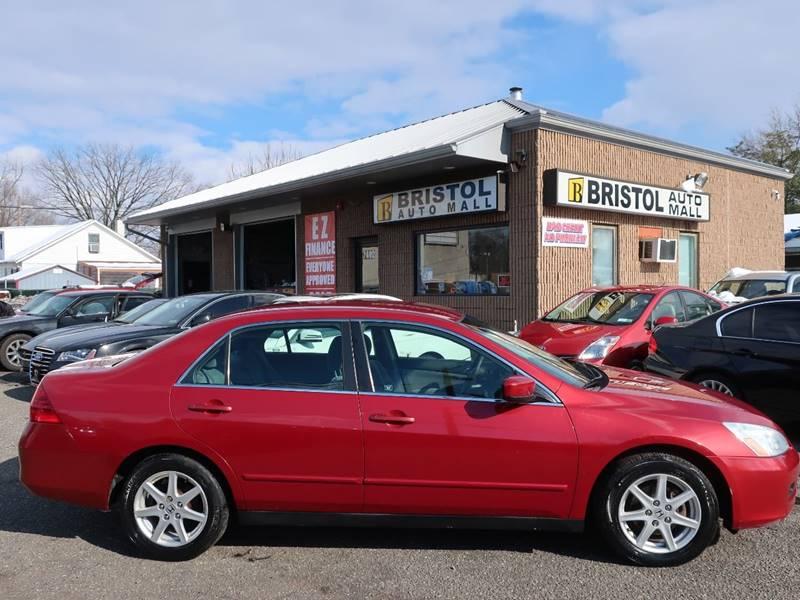 2007 Honda Accord Special Edition V-6 4dr Sedan In Levittown PA ...