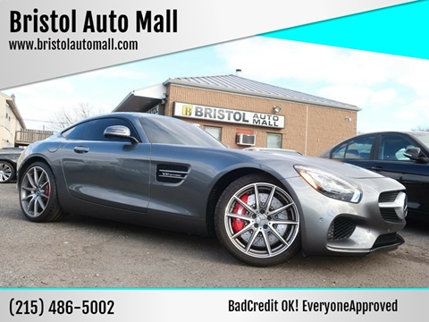 2016 Mercedes-Benz AMG GT for sale at Bristol Auto Mall in Levittown PA
