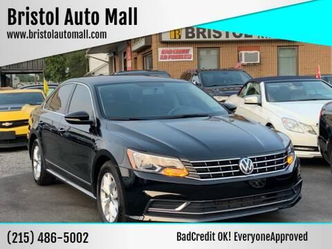 2016 Volkswagen Passat for sale at Bristol Auto Mall in Levittown PA
