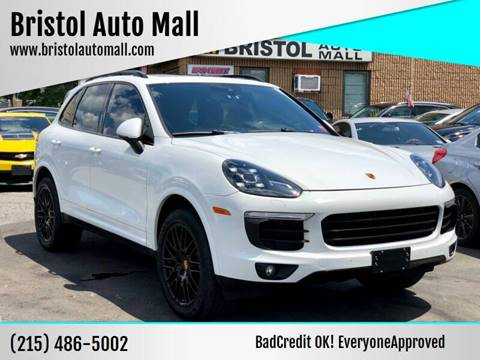2017 Porsche Cayenne for sale at Bristol Auto Mall in Levittown PA