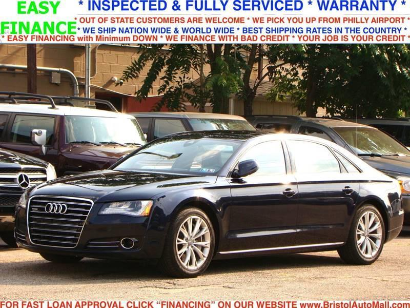 2011 Audi A8 L quattro AWD 4dr Sedan In Levittown PA - Bristol Auto Mall