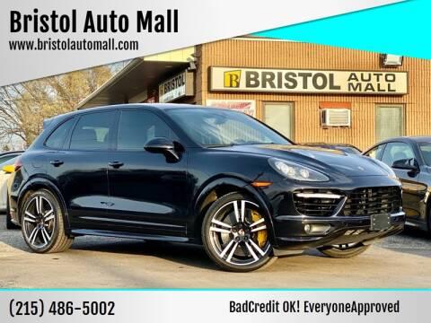 2014 Porsche Cayenne for sale at Bristol Auto Mall in Levittown PA