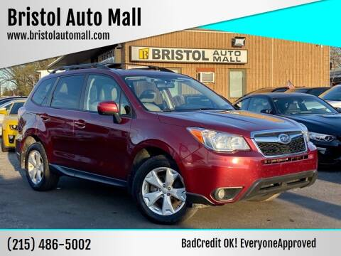2016 Subaru Forester for sale at Bristol Auto Mall in Levittown PA