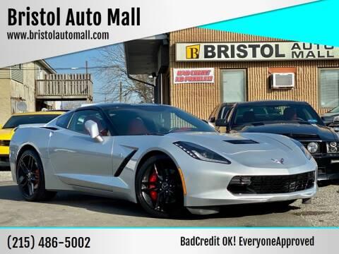 2014 Chevrolet Corvette for sale at Bristol Auto Mall in Levittown PA