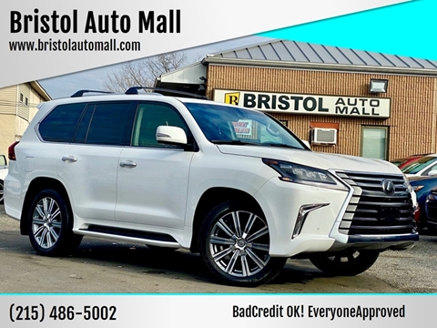 2016 Lexus LX 570 for sale at Bristol Auto Mall in Levittown PA