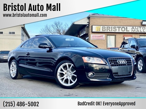 2011 Audi A5 for sale at Bristol Auto Mall in Levittown PA