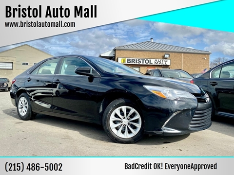 2017 Toyota Camry for sale at Bristol Auto Mall in Levittown PA