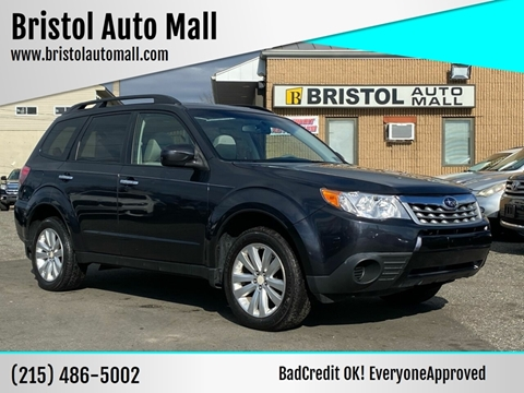 2012 Subaru Forester for sale at Bristol Auto Mall in Levittown PA