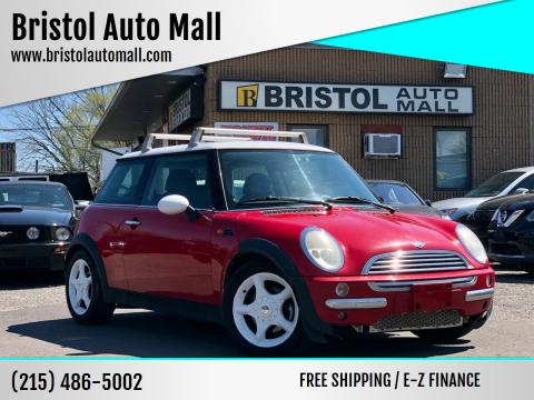 2003 MINI Cooper for sale at Bristol Auto Mall in Levittown PA