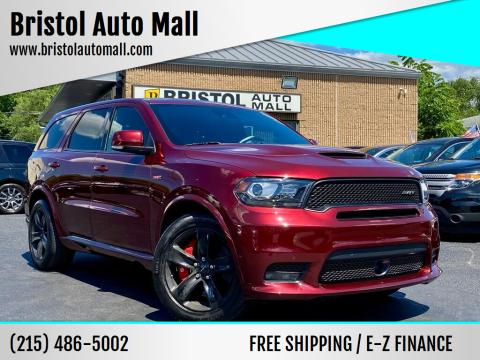 2018 Dodge Durango for sale at Bristol Auto Mall in Levittown PA
