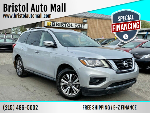 2018 Nissan Pathfinder for sale at Bristol Auto Mall in Levittown PA